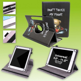 Für Lenovo Tab P11 11.0 TB-J606F 360 Grad Motiv 7 Tablet Tasche Kunst Leder Etui