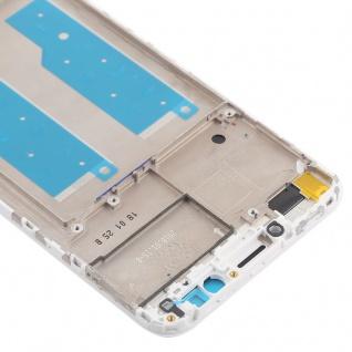 Gehäuse Rahmen Mittelrahmen Deckel für Huawei Y7 2018 Weiß Reparatur Ersatz Neu - Vorschau 4
