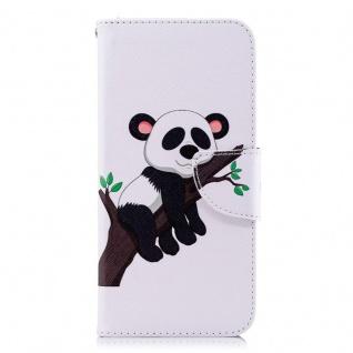 Tasche Wallet Book Muster Motiv 34 für Smartphones Schutz Hülle Case Cover Etui - Vorschau 3