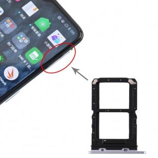 Für OPPO Realme X2 Pro SIM Card Tray + SIM Card Tray Karten Halter Silber Ersatz