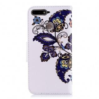 Tasche Wallet Book Muster Motiv 36 für Smartphones Schutz Hülle Case Cover Etui - Vorschau 3