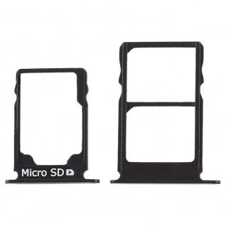 Für Nokia 3.1 Simkarten Halter Card Tray Schwarz SD Card Ersatzteil Zubehör