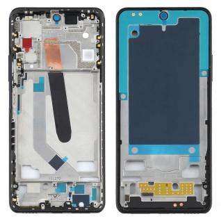 Front Housing LCD Rahmen für Xiaomi Mi 11 Schwarz Bezel Plate Ersatzteil Zubehör