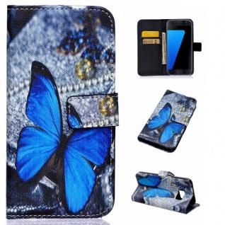 Schutzhülle Muster 83 für Samsung Galaxy S7 G930 G930F Tasche Cover Case Hülle