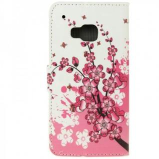 Schutzhülle Muster 6 für HTC One 3 M9 2015 Tasche Cover Case Hülle Etui Schutz - Vorschau 4