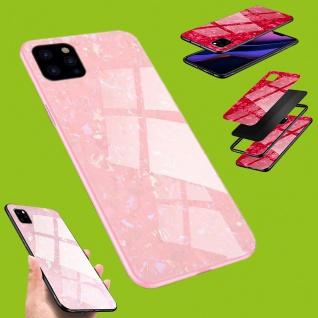 Für viele Smartphone Modelle Effekt Design Glas Tasche Case Hülle Cover Etuis - Vorschau 5