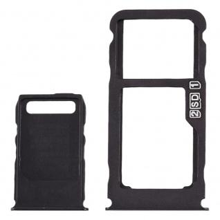 Für Nokia 3.1 Plus Simkarten Halter Card Tray Schwarz SD Card Ersatzteil Zubehör