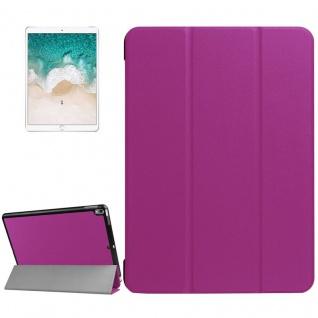 Smartcover Lila Cover Tasche für Apple iPad Pro 10.5 2017 Hülle Etui Case Schutz