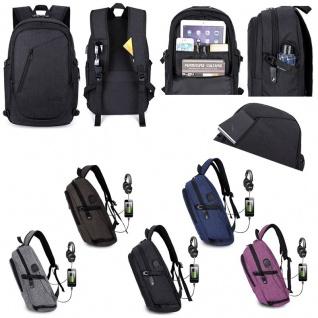 Multi Funktions Rucksack für Smartphone / Tablet / Laptop Reisen Hülle Tasche