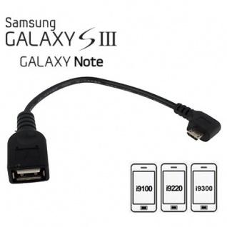 SAMSUNG Galaxy Note i9250 N7000 10.1 N8000 Anschluß Adapter Kabel USB OTG Neu