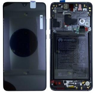 Huawei Display LCD Rahmen für Mate 20 Service 02352ETG Schwarz Batterie Ersatz