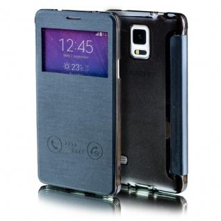 Für Apple iPhone 7 4.7 Smartcover Window Schwarz Tasche Hülle Case Etui Schutz