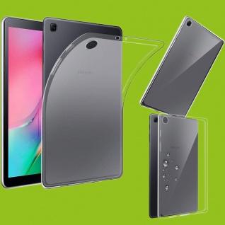 Für Samsung Galaxy Tab A 10.1 2019 T510 Transparent Tasche Hülle TPU Silikon Neu