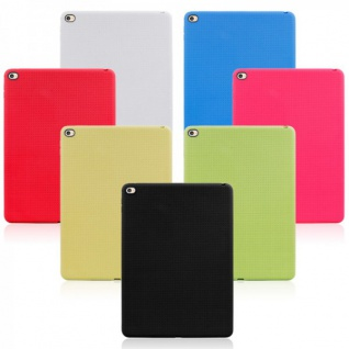 Schutzhülle Silikon Netz Serie Hülle Case Cover Schutz für viele Apple iPad Neu
