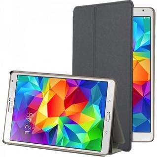 Smartcover Grau für Samsung Galaxy Tab S 8.4 T700 Hülle Case Cover Zubehör