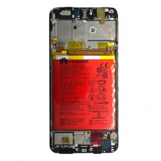 Huawei Display LCD Rahmen für P Smart Service Pack 02351SVJ Schwarz Reparatur - Vorschau 2