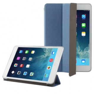 Smartcover Blau Tasche für Apple iPad Mini und Retina Hülle + Folie Touchpen Neu
