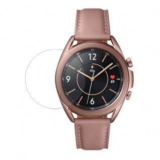 2.5D 0, 26 mm H9 Hart Glas Schock Folie für Samsung Galaxy Watch 3 45mm Zubehör