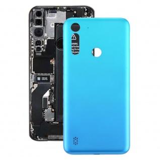 Akkudeckel Akku Deckel Batterie Cover für Motorola Moto G8 Power Lite Baby Blau