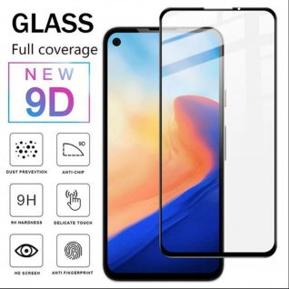 Für Google Pixel 4a 5G 3D Display Full H9 Hart Glas Schwarz Folie dünn Panzer
