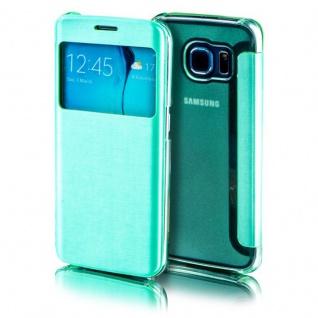 Für Apple iPhone 7 4.7 Smartcover Window Grün Tasche Hülle Case Etui Schutz Neu