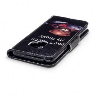 Tasche Wallet Book Cover Motiv 30 für Samsung Galaxy S9 G960F Hülle Case Etui - Vorschau 5
