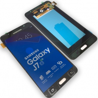 Display LCD Komplettset GH97-18855B Schwarz für Samsung Galaxy J7 J710F 2016 Neu