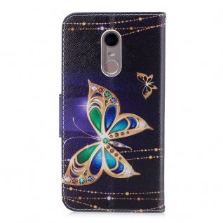 Für Huawei P Smart Plus Kunstleder Tasche Wallet Motiv 32 Schutz Hülle Case Neu - Vorschau 5