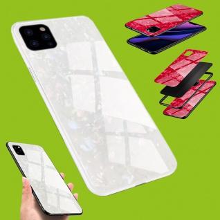 Für viele Smartphone Modelle Effekt Design Glas Tasche Case Hülle Cover Etuis - Vorschau 3
