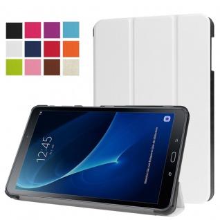 Smartcover Weiß für Samsung Galaxy Tab A 10.1 T580 T585 Hülle Case Tasche Schutz