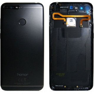 Huawei Akkudeckel Akku Deckel Batterie Cover Schwarz für Honor 7A 02351VNT Neu