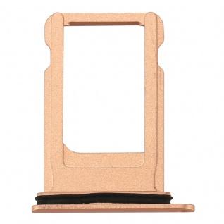 Sim Karten Halter Adapter Sim Card Tray für Apple iPhone 8 4.7 Gold Ersatz Neu