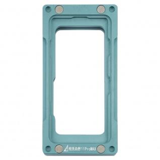 Magnetischer Edelstahl Rahmen LCD Reparatur Halterung für iPhone 11 Pro Max