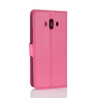 Tasche Wallet Premium Pink für Huawei Mate 10 Hülle Case Cover Etui Schutz Neu - Vorschau 2