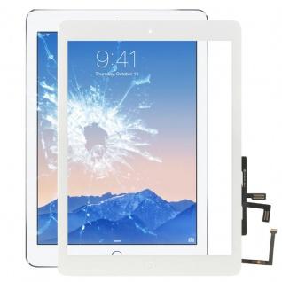 Apple iPad Air Display Displayglas TouchScreen Home Button Screen Scheibe Weiss