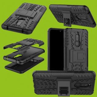 Für Xiaomi Redmi 8 / 8A Hybrid Outdoor Schwarz Handy Tasche Cover Etuis Hülle