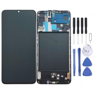Samsung Display LCD Kompletteinheit für Galaxy A70 A705F GH82-19747A Schwarz Neu