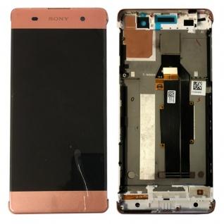 Sony Display LCD Komplett mit Rahmen für Xperia XA F3111 F3112 Rose-Gold Ersatz - Vorschau 1
