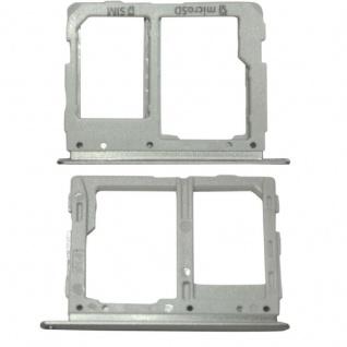 Simkartenhalter für Samsung Galaxy Tab S3 9.7 T825 3G Version Ersatzteil Silber