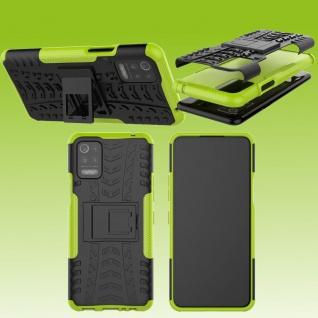Für LG K42 / K52 Outdoor Grün Handy Tasche Etuis Hülle Cover Case Schutz Zubehör