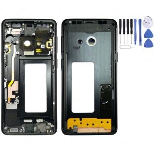 Mittelrahmen Schwarz für Samsung Galaxy S9 G960 G960F Ersatzteil Gehäuse Ersatz