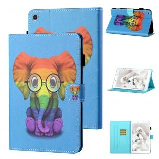 Für Samsung Galaxy Tab A 8.0 2019 T290 Motiv 9 Tablet Tasche Kunst Leder Etuis