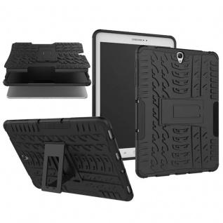 Hybrid Outdoor Schutzhülle Schwarz für Samsung Galaxy Tab S3 9.7 T820 Tasche Neu
