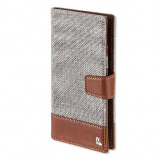Universal Schutzhülle Flip Tasche UltiMAG MILANO bis 5.2 Zoll Hülle Etui braun