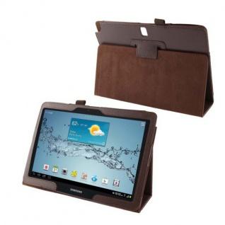 Schutzhülle Kunstleder Tasche für Tablet eBook PDA Smart Cover Hülle Case Etui - Vorschau 4