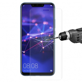 Für Huawei Mate 20 Lite 4D 0, 3 mm H9 Full Curved Display Hart Glas Transparent