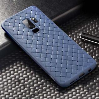 Original ROCK Wave Silikon Case für Samsung Galaxy S9 G960F Tasche Hülle Blau