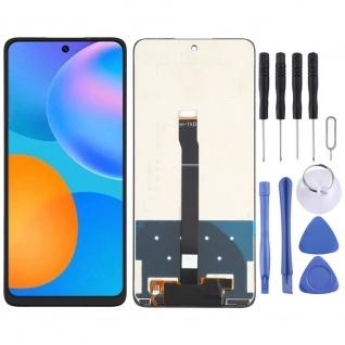 Für Huawei P Smart 2021 Display Full LCD Touch Screen Reparatur Ersatz Schwarz