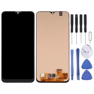 Für Samsung Galaxy A20 OLED Display Einheit Rahmen Touch Ersatzteil Schwarz