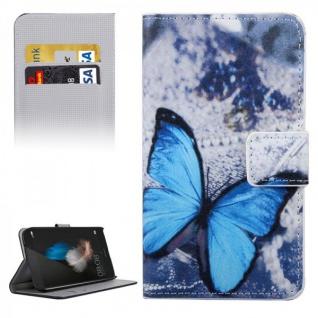 Schutzhülle Muster 33 für Huawei G8 5.5 Zoll Bookcover Tasche Case Hülle Wallet